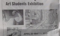 Keene State College Art Students Exhibition