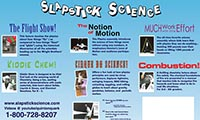 Slapstick Science 3 Panel Display