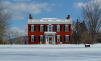 Colonial Building in Southern Vermont