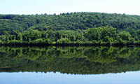Reflections on the Connecticut river